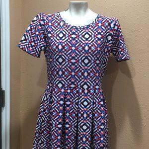 COPY - Lularoe multicolor dress